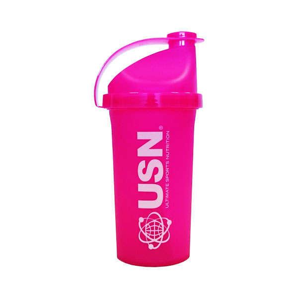 Shaker USN 500ml Rosa