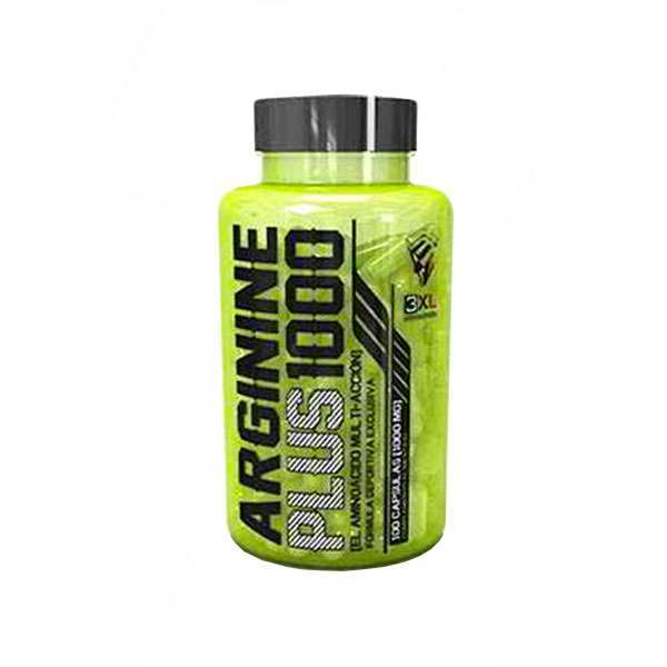 Image For Arginine plus 1000 - 100 caps