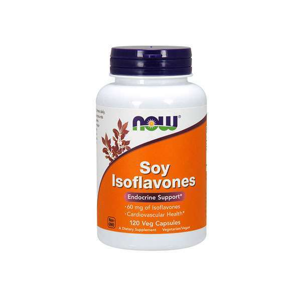 SOY ISOFLAVONES - 120 veg caps