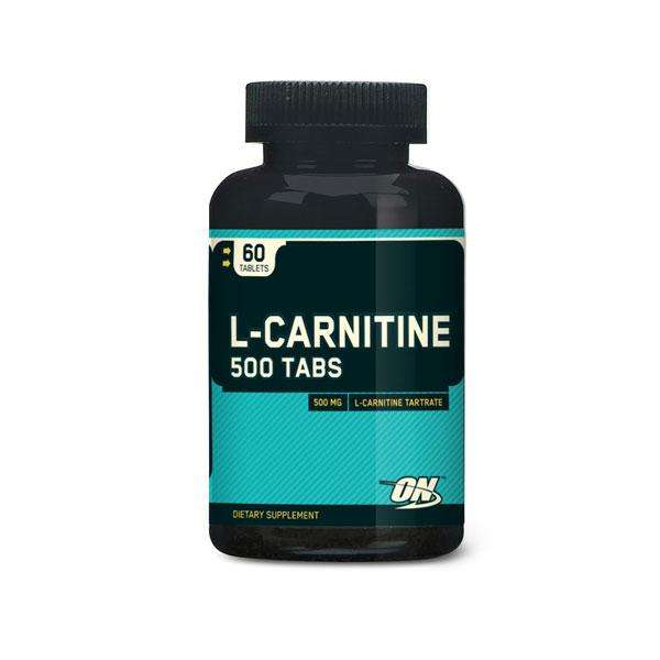 L-carnitine 500mg Optimum Nutrition - 60 tabletas