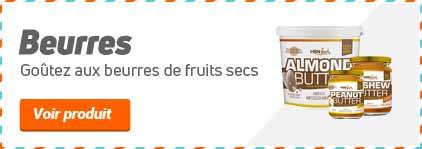 BEURRES DE FRUITS SECS