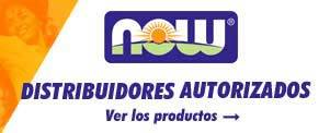 Now Food distribuidores oficiales