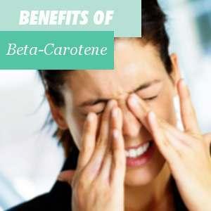 Benefits of Beta-carotene