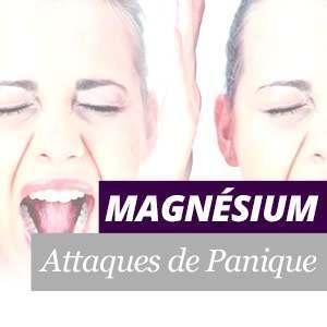 Magnésium et crises de panique