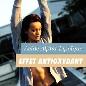 L'effet antioxydant de l'acide alpha lipoïque