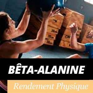 Bêta-Alanine et le rendement