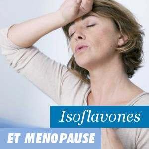 Isoflavones de soja et la ménopause