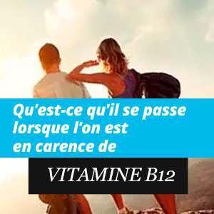 Manque en Vitamine B12