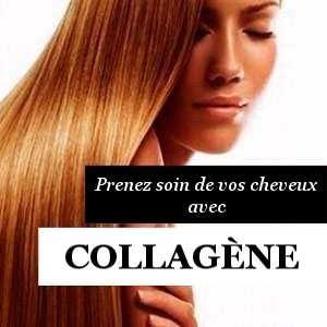 Collagène et cheveux