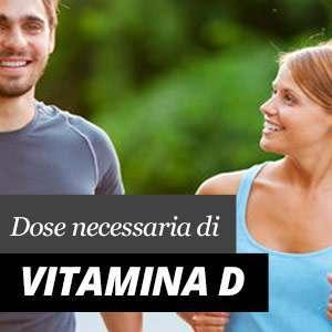 Quantità necessaria di Vitamina D