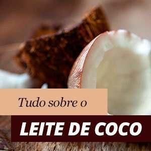 Propriedades leite de coco