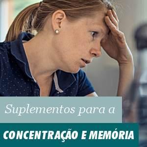 Suplementos para a Concentração e Memoria
