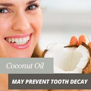 Coconut oil and caries