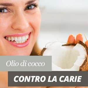 Olio di cocco e carie
