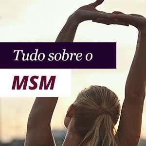 MSM ajuda contra a inflamação