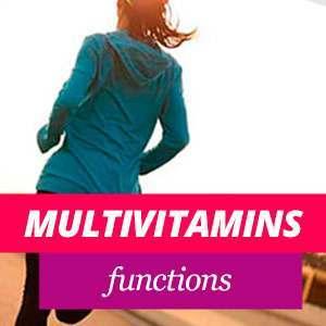 Multivitamins' Functions