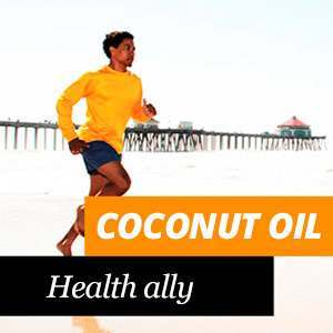 Coconut oil and health care