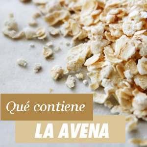 Contenido de la Avena