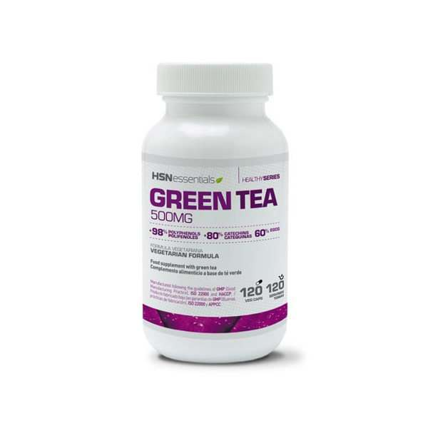 Té verde 120 veg caps HSN Essentials