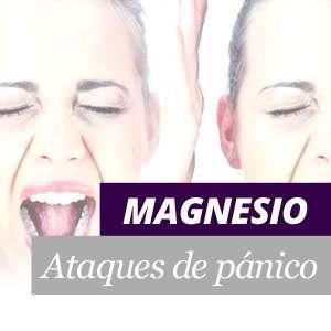 El magnesio y los ataques de pánico