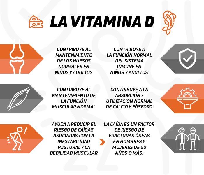 Vitamina d propiedades beneficios y causas de su falta - Alimentos que contiene vitamina d ...