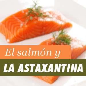 Salmon y Astaxantina